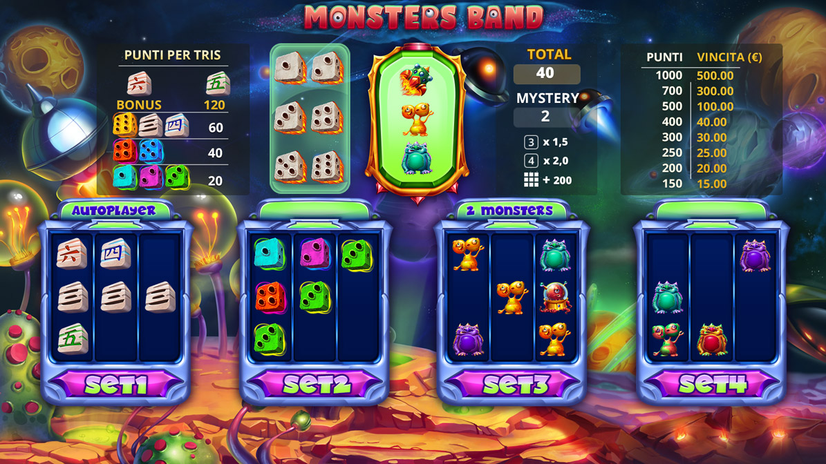 Monsters_Band_game_main_screen