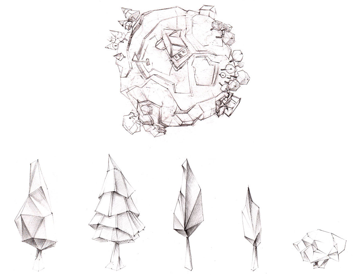 Golf_Planet_planet_trees_sketches